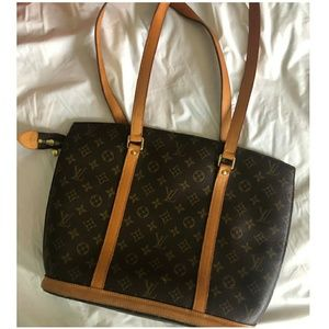 Louis Vuitton Vintage Monogram Babylone Tote Purse